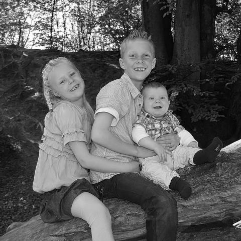 Familiebillede fotograf slagelse